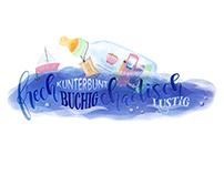 'Kunterbunte Flaschenpost'