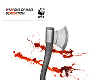 WWF | Weapons of mass destruction | Print | Advertising