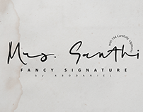 Mrs. Santhi -Fancy Signature-