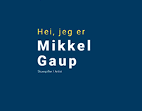 Personal website for Mikkel Guap
