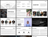 EN|VEIL Powerpoint Presentation Template