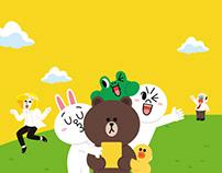 [웹디자인]스카이에듀_스터디플래너 with LINE FRIENDS_홍보페이지(2015)