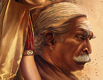 poster for KAVIYATHALAIVAN ( film)