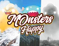 HAPPY MONSTERS Oscar Creativo
