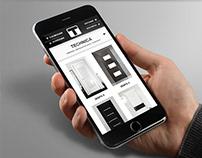 Terem | Website mobile version