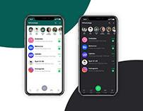 WhatsApp Redesign UI