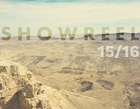 VFX Showreel 15/16
