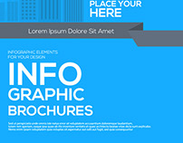Infographics elements for corporate brochures