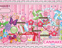 CANMAKE Product Launch (Envelope + Card)