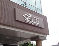 شعار مؤسسة بناء للعقارات والمنشاءات