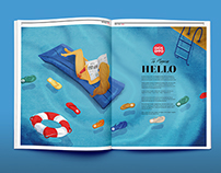 Spring/Summer Illustration Magazine Gioseppo 2015