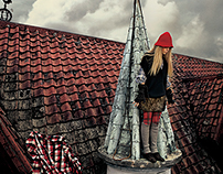 little thing magazine--wondering on the roof