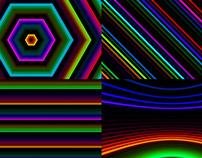 Color Feedback - VJ Loop Pack (6in1)