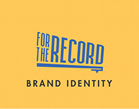 For The Record - Brand Identity