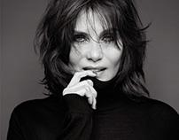 Emmanuelle Seigner Portrait in Numéro Magazine