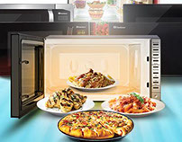 Dawlance Microwave Oven - Photography