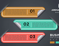 Free Modern Corporate Business Infographics Banners