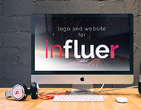 Influre Logo and Website design