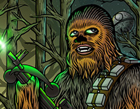 Chewbacca the wookiee / Chewbacca el wookie