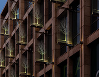 THE CHERRY GARDEN (MOSCOW) LIGHTING PROJECT FOR MULTIF