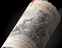 "Georgian wine ""TBILIRANI"""