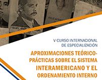 V CURSO INTERNACIONAL DE ESPECIALIZACIÓN - DDHH