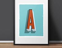 Art Prints - Letters