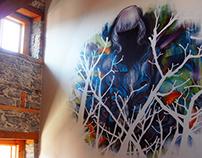 Montreal Mural Collaboration - Dom Lint & Phil Daze
