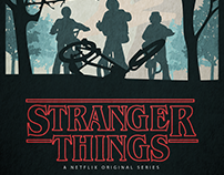 POSTER MINIMALIST // STRANGER THINGS