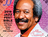 New Orleans offBEAT Magazine's Jazz Fest Bible