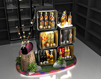 Diageo Reserve New Year Stand
