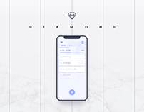 DIAMOND. Task Manager App Concept