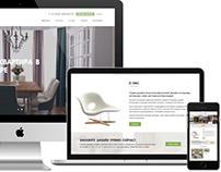 Сайт студии дизайна Анастасии Даниловой