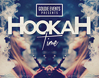 Hookah Time | Lifestyle Party PSD Flyer Template