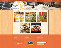 Fasta & Ravioli Co. Website