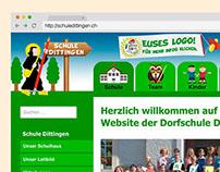 Website Primary School Dittingen