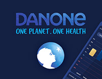 Danone Sales management Analysis APP