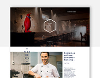 Flor de Lis Web Page / Redesign