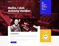Odessa - Personal Resume WordPress Theme
