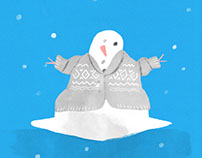 Snowed In Animation, for Old Navy's Tumblr