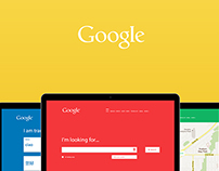 Google / Redesign / One Page Scroll