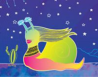 Topo Blanco Illustration & CD Cover Design