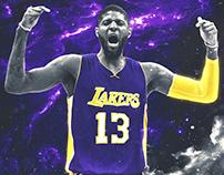 Paul George Lakers Jersey Swap