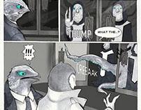 Cal Carmichael Comic: Teaser