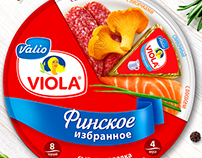 Design Valio/ Redesign / TM Viola/ Cheese