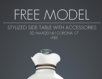 Free Model | Stylized Side Table