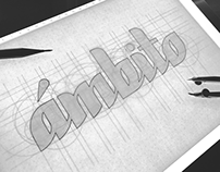 ámbito - Brand Lettering