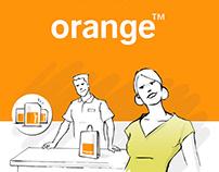Orange - Illustrations de concepts