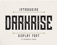 Free Darkrise Display Font