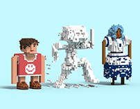 Daily Voxel #1 & #2